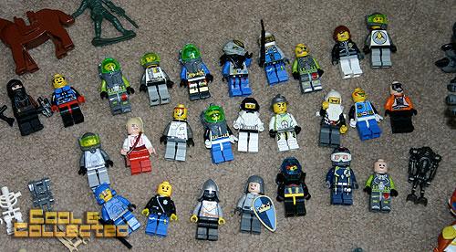 Yard Sale Finds — Godzilla and Legos!