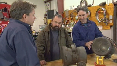 american pickers brass headlights