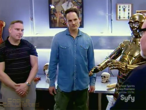 hollywood treasure x marks the prop c3-po Don Post