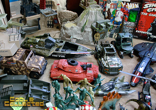 yard sale finds gi joe vehicles