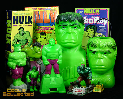 I'm seeing green — Hulk Collection