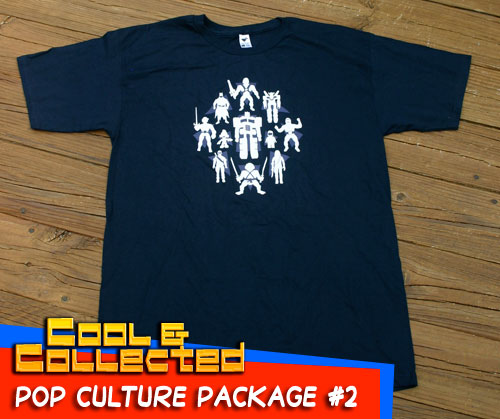 pop culture package - toy collector tshirt