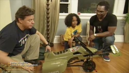 toy hunter Star Wars speeder bike pedal car