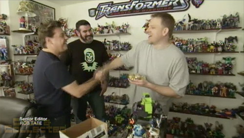 toy hunter pete sinclair's transformers collection