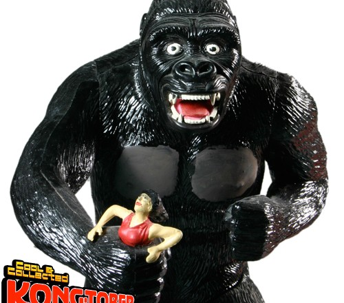 KONGTOBER 31 — Aurora King Kong model kit
