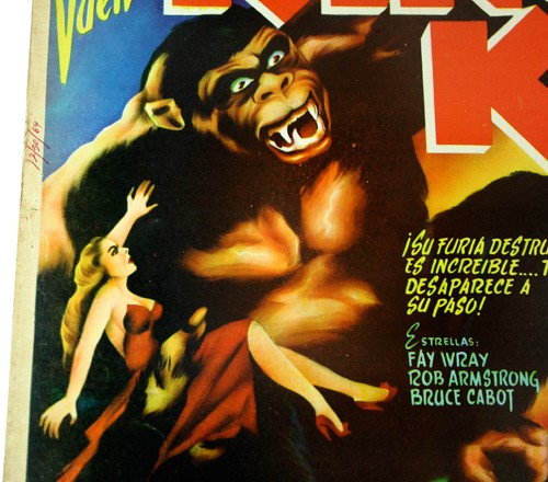 KONGTOBER 30 — King Kong Mexican lobby card