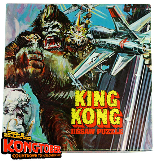 reaction paper in king kong Kaida's poster is a real wonder: a garish, flame-wreathed collage of monsters  and painted savages, crowned with an image of king kong.