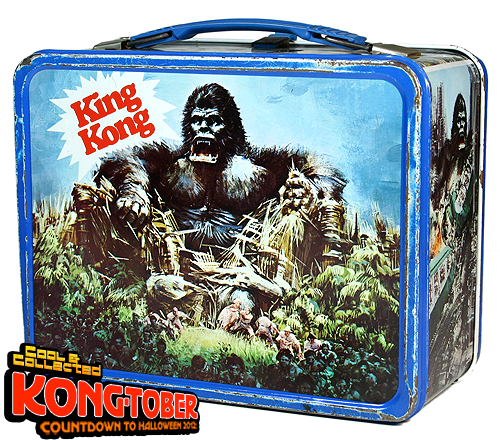 KONGTOBER 19 — 1977 King Kong Lunchbox by Thermos