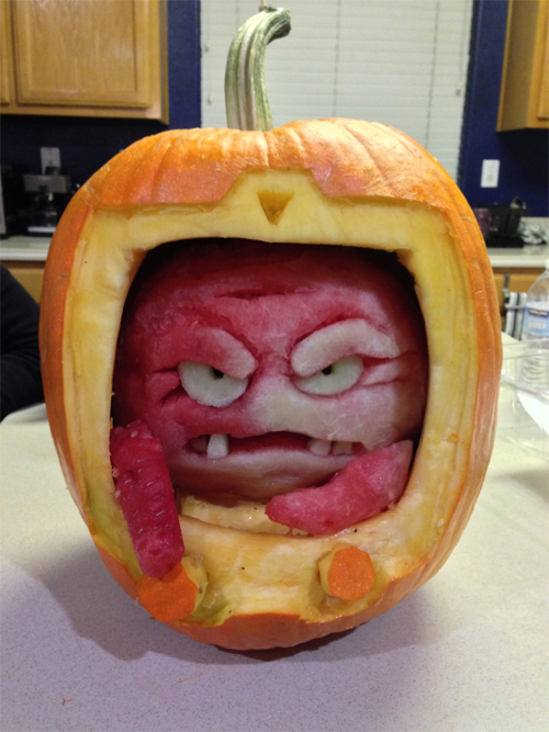 krang pumpkin