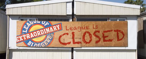 league is closed this week!