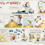 Original Calvin & Hobbes Sunday strip artwork up for bid