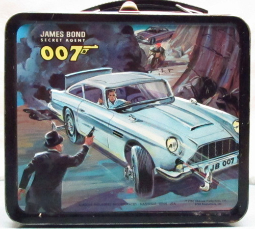 james bond lunchbox