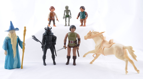 lord f the rings knickerbocker action figures