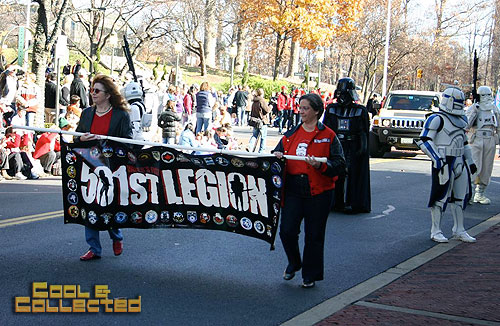 reston holiday parade 501st Legion Star Wars cosplayers