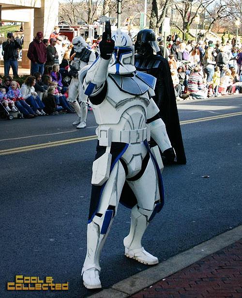 reston holiday parade 501st Legion Star Wars clone trooper