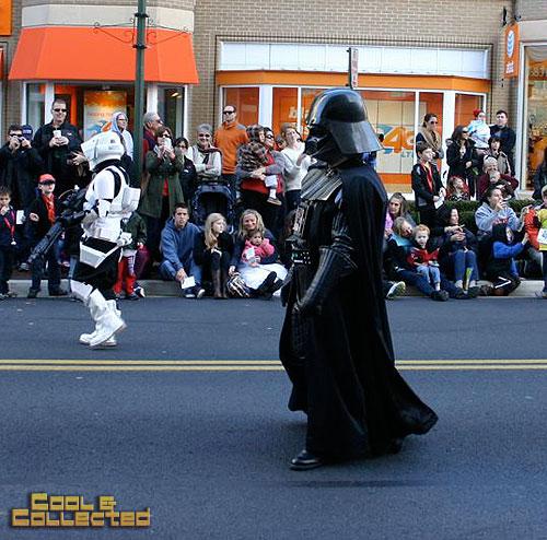 reston holiday parade 501st Legion Star Wars Darth Vader