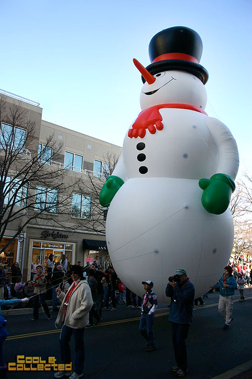 reston holiday parade Frosty the Snowman
