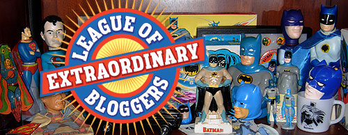 league of extraordinary bloggers shelf expression