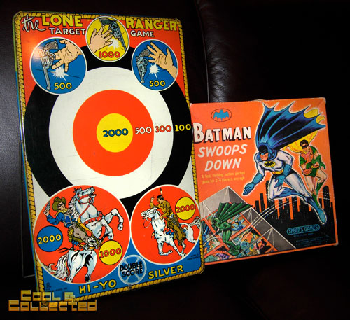 lone ranger target game and batman swoops down