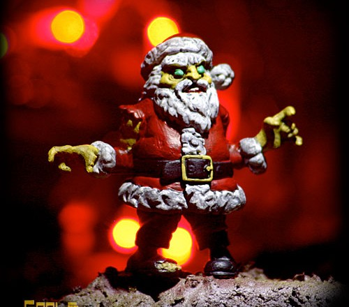 S.L.U.G. Zombies' Santa Claws
