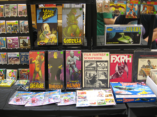 steel city con 2012 vintage aurora model kits