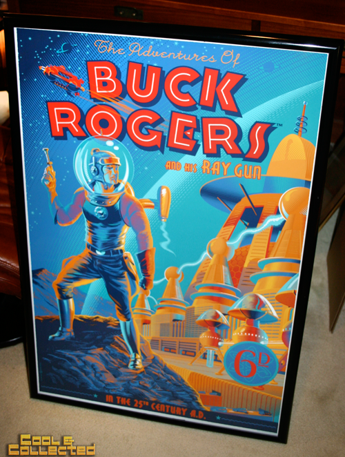 buck rogers poster by laurent durieux