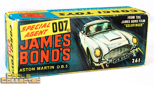 Vintage James Bond Aston Martin DB 5 — Corgi #261