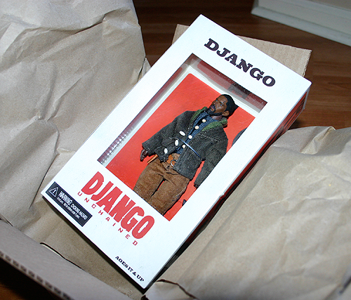 Django Unchained action figures are skyrocketing!