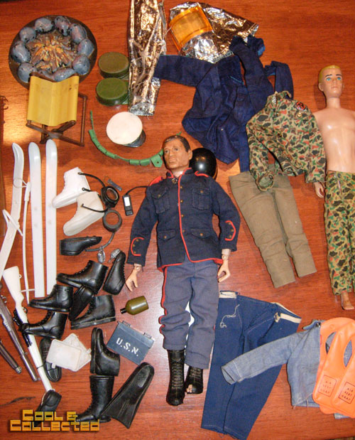 vintage gi joe and ken