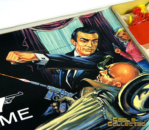 James Bond Secret Agent 007 board game