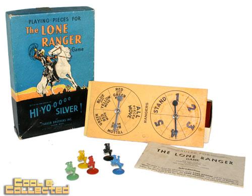 vintage lone ranger game
