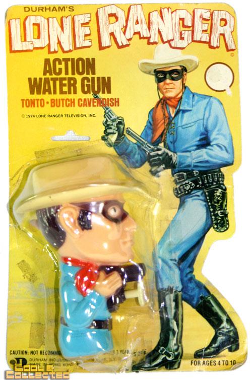 vintage durham lone ranger squirt gun