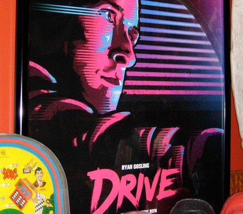 Drive poster by James White (AKA Signalnoise)