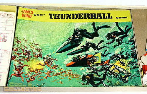 Thunderball James Bond board game