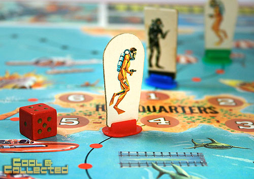 Vintage James Bond Thunderball board game