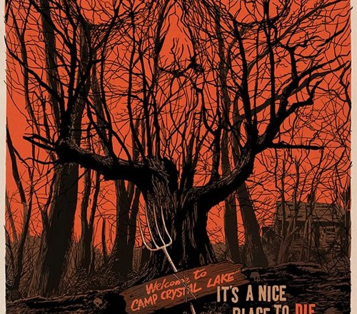 "Mondo ""Friday the 13th"" Poster by Francesco Francavilla"