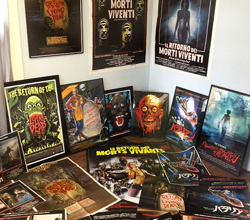 "Collector Profile: Jeremy Slawsky's ""Return of the Living Dead"" collection"