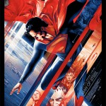 This Superman poster by Martin Ansin is out of this world!
