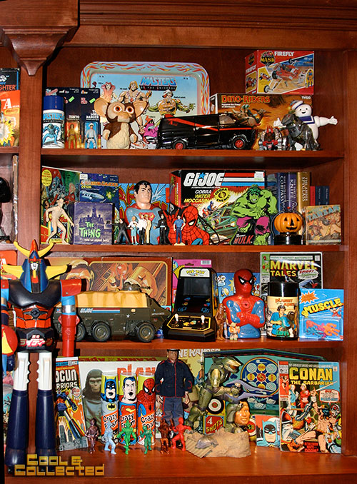 Shelf Expression Rearranging My Vintage Toy Collection