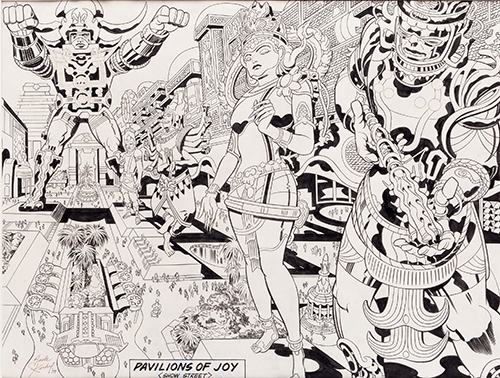 Original 1978 Jack Kirby 'Argo' film artwork, from collection of comics legend Jim Lee, readies for auction