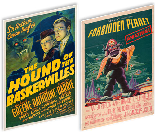 hakes vintage movie posters