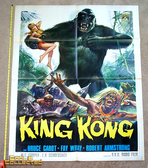 king kong italian movie poster
