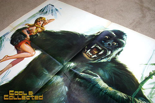 Italian King Kong poster added to the collection