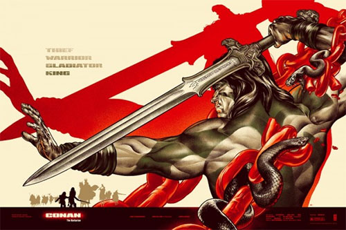 Mondo's SDCC exclusives: Drew Struzan's Dark Tower and Martin Ansin's Conan