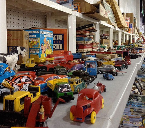 Report from last weekend's Toy & Collectible Show at the Timonium Fairgrounds