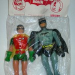 Bootleg Spider-Man and Batman toys