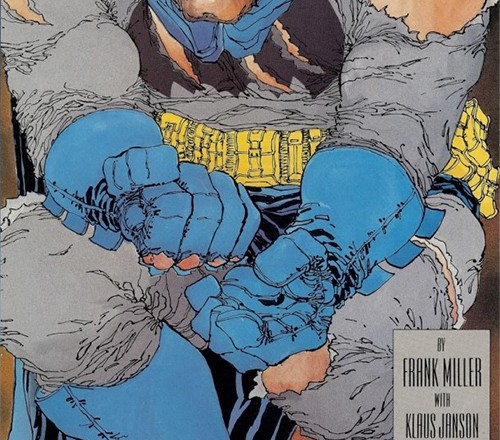 Original Frank Miller Dark Knight cover art sells for $478,000