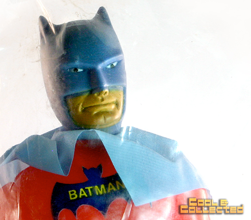 Bootleg Batman action figure toy from Mexico