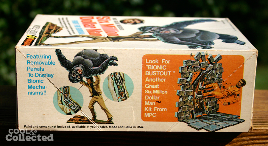 "Six Million Dollar Man ""Fight for Survival"" model kit by ..."