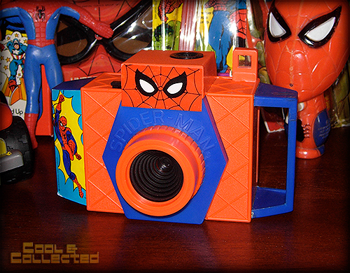 1978 Spider-Man Toy Camera